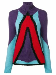 Bottega Veneta cashmere geometric panel jumper - Multicolour
