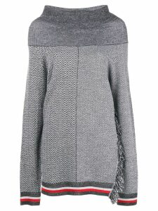 Stella McCartney oversized cowl neck sweater - Grey