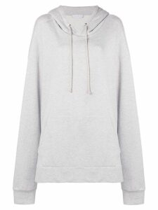 Matthew Adams Dolan drawstring hoodie - Grey