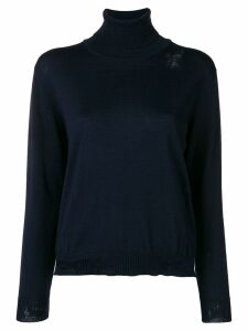 Golden Goose Pyxis turtleneck sweater - Blue