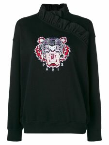 Kenzo embroidered Tiger jumper - Black