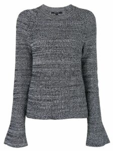 Derek Lam bell-sleeve sweater - Black