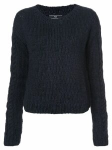 Voz knitted jumper - Black