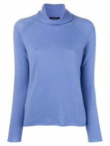 Piazza Sempione turtleneck sweater - Blue