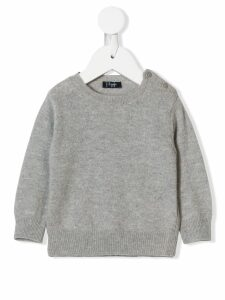 Il Gufo loose fitted sweater - Grey