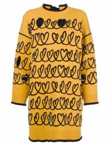 Fendi maxi knit sweater - Yellow