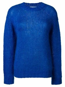 Prada chunky knit sweater - Blue