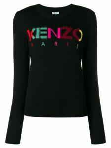 Kenzo multicoloured letters jumper - Black