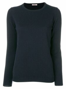 Liska cashmere crew neck sweater - Blue