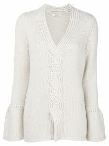 Liska cashmere cable knit sweater - Neutrals