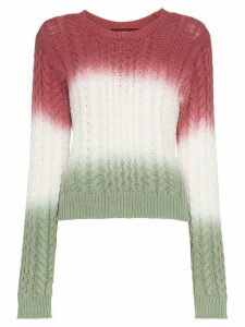 Sies Marjan Britta cotton cable knit jumper - Dsdg Multicolor