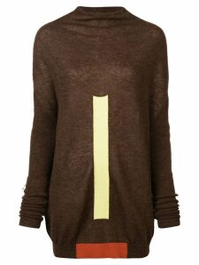 Rick Owens Crater jumper - Brown