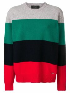 Dsquared2 striped jumper - Green