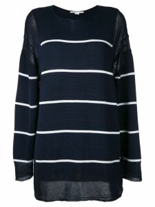 Stella McCartney striped jumper - Blue