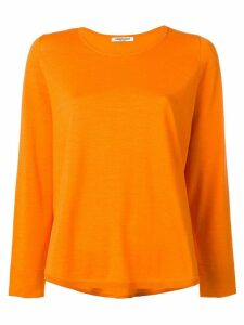 Lamberto Losani round neck jumper - ORANGE