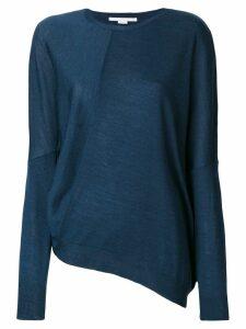 Stella McCartney draped sweater - Blue