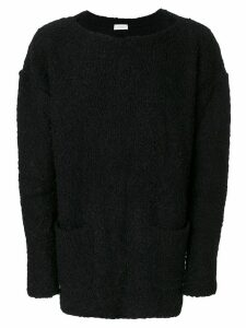 Faith Connexion boat neck sweater - Black