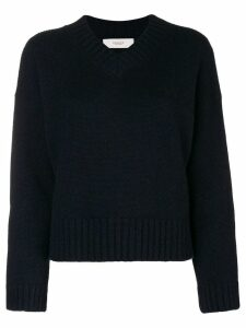 Pringle Of Scotland loose V-neck sweater - Blue