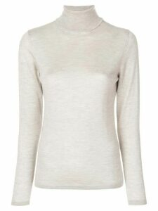 Le Tricot Perugia roll-neck jumper - Neutrals