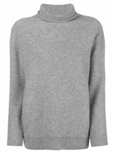 Incentive! Cashmere turtle neck jumper - Grey