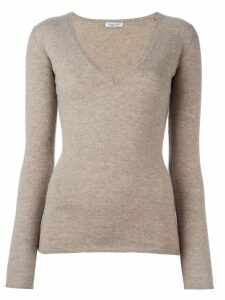 Fashion Clinic Timeless V-neck jumper - Neutrals