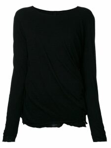 Forme D'expression 'Juxtaposed' pullover - Black