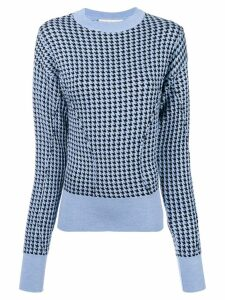 Marni dogtooth jumper - Blue