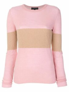 Cashmere In Love cashmere Vivien lurex stripe jumper - Pink
