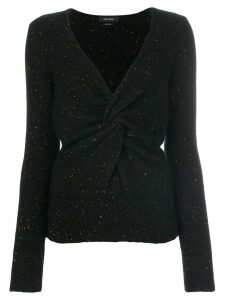Isabel Marant knotted jumper - Black