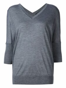 Derek Lam Ezme Batwing Sweater - Grey