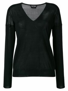 Tom Ford V-neck sweater - Black