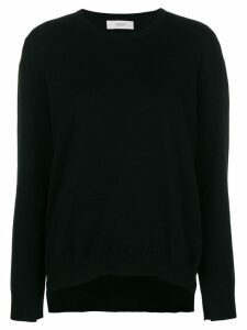 Pringle of Scotland long-sleeve fitted sweater - Black