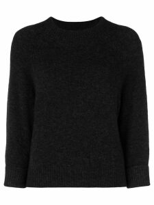 3.1 Phillip Lim cropped high neck sweater - Grey