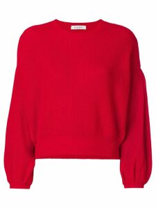 Valentino crew neck sweater - Red
