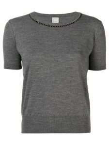 Pinko short sleeve sweater - Grey