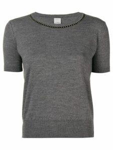 Pinko short sleeve sweater - Grey