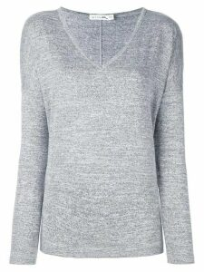 Rag & Bone /Jean melange v neck jumper - Grey