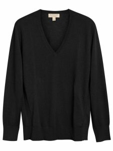 Burberry v-neck sweater - Black