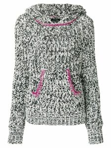 Isabel Marant knitted hooded jumper - Black