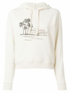 Saint Laurent Waiting for Sunset hoodie - NEUTRALS
