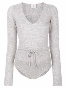 Le Kasha cashmere bodysuit - Grey