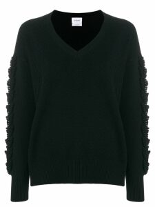 Barrie Troisieme Dimension cashmere V-neck pullover - Black