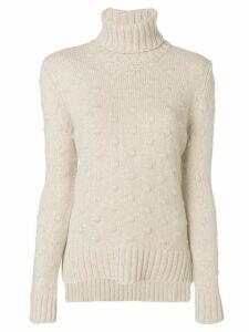 Borgo Asolo bubble knit jumper - Grey