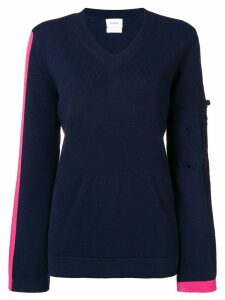 Barrie New Romantic cashmere V-neck pullover - Blue