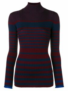 Victoria Victoria Beckham striped sweater - Blue