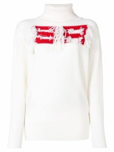 Sonia Rykiel turtle neck jumper - White