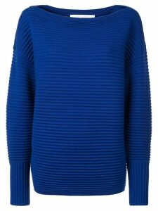 Victoria Victoria Beckham one shoulder sweater - Blue