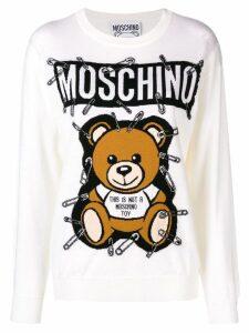 Moschino Toy Bear sweatshirt - White