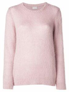 Moncler crew neck jumper - Pink