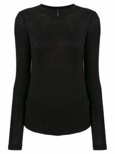 Pierantoniogaspari crew neck sweater - Black